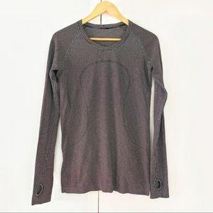 LULULEMON long sleeve thumb hole running shirt 10